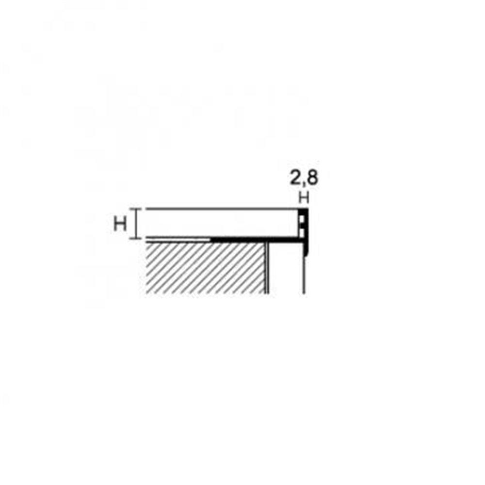 PROSTEP SNG Profil profil schodowy aluminium