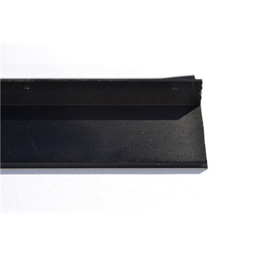 Czarny okapnik balkonowy 300 cm aluminium anodowane}