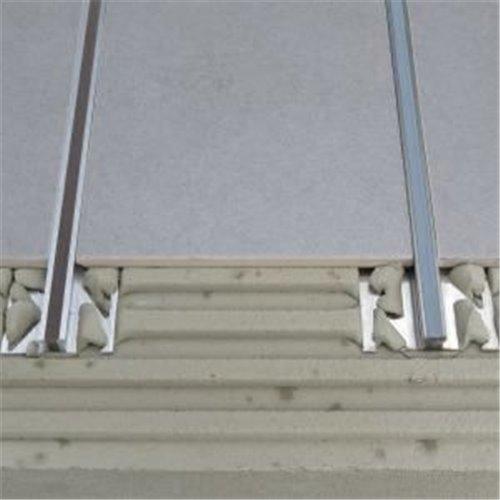 Listwy dylatacyjne – aluminium + PCW}
