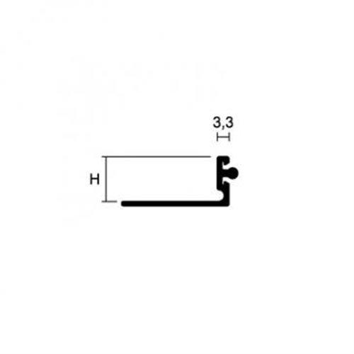 Pronivel N 38mm Profil łączący podłogi o różnych poziomach}