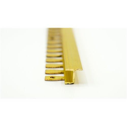 H10mm Teownik mosiądz polerowany do łączenia płytka panel}