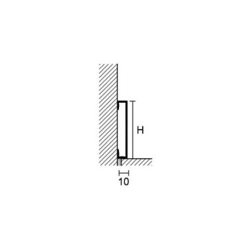Metal Line 89 Trend Color Stone - cokół aluminiowy}