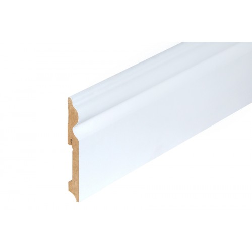 Listwa przypodłogowa biała MDF 115x15 mm 2,4 m}