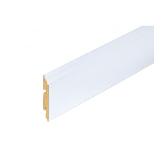 Listwa przypodłogowa biała MDF 82x13 mm 2,4 m}