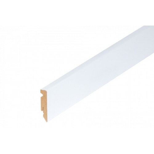 Listwa przypodłogowa biała MDF 58x15 mm 2,40 m}