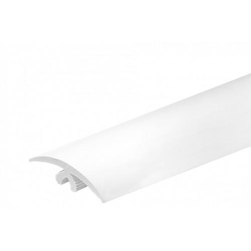 Elastyczny profil podłogowy Flex Line Biały PVC}