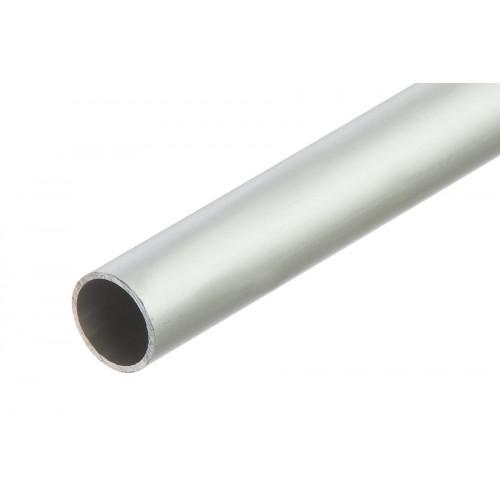 Rura okrągła srebrna aluminium anoda 15x1 mm}