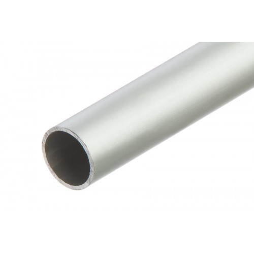 Rura okrągła srebrna aluminium anoda 20x1mm 1 m}
