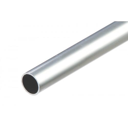Rura okrągła srebrna aluminium naturalne 12x1 mm 1 m}