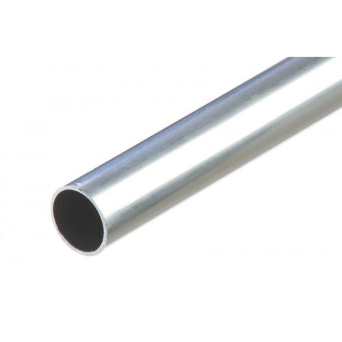 Rura okrągła srebrna aluminium naturalne 15x1 mm 1 m}