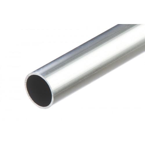 Rura okrągła srebrna aluminium naturalne 20x1 mm 1 m}