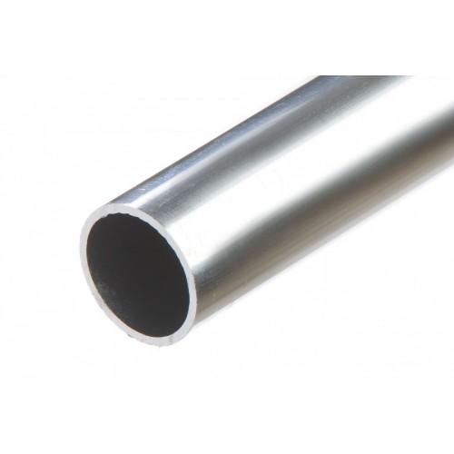 Rura okrągła srebrna aluminium naturalne 25x1,5 mm}