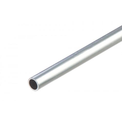 Rura okrągła srebrna aluminium naturalne 6x1 mm 1 m}