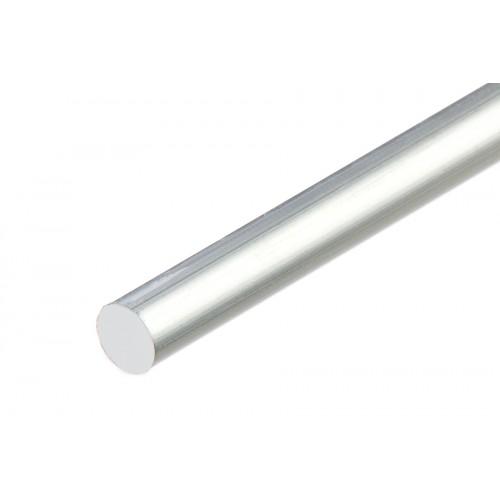 Sztanga okrągła srebrna aluminium naturalne 10 mm}