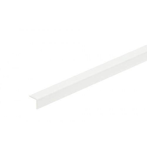 Kątownik plastikowy (PVC) równoramienny 10x10 mm 2,75 m}