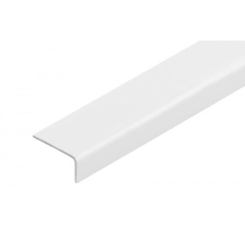 Kątownik plastikowy (PVC) równoramienny 20x10 mm 2,75 m}