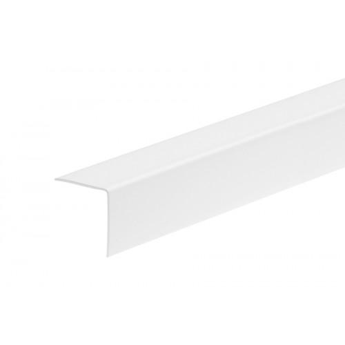 Kątownik plastikowy (PVC) równoramienny 20x20 mm 2,75 m}