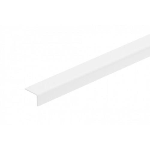 Kątownik plastikowy (PVC) równoramienny 25x20 mm 2,75 m}