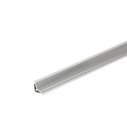 Listwa przyblatowa wklęsła wąska BL22 Aluminium PVC}