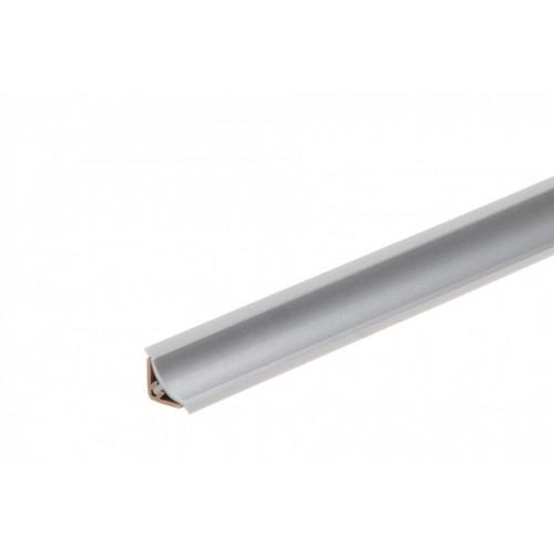 Listwa przyblatowa wklęsła wąska BL22 Aluminium Szare PVC}