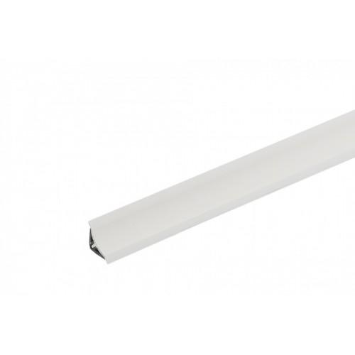 Listwa przyblatowa wklęsła wąska BL22 Biały PVC}