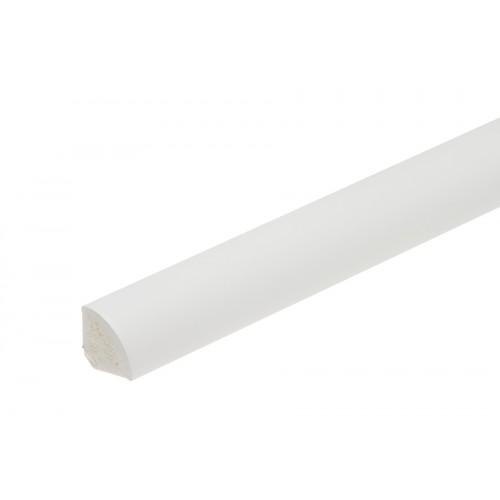 Profil wykończeniowy ćwierćwałek Biały PVC 13x13mm 1m/2m}