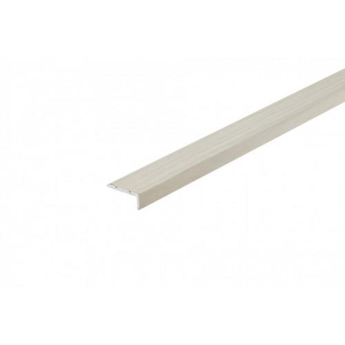 Profil schodowy narożny klejony aluminium laminat 25x10 mm 1,35 m}