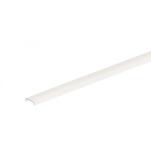 Osłonka płaska do taśmy LED mrożona poliwęglan 12,3x3,5 mm 2 m}