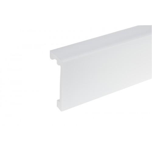 Listwa karniszowa LK-01 Elegance biała light blocker 100x40 mm 2,44 m}