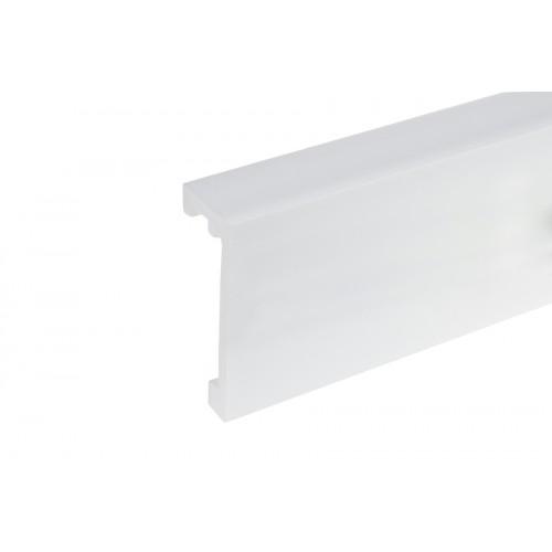 Listwa karniszowa LK-03 Elegance biała light blocker 120x43,5 mm 2,44 m}