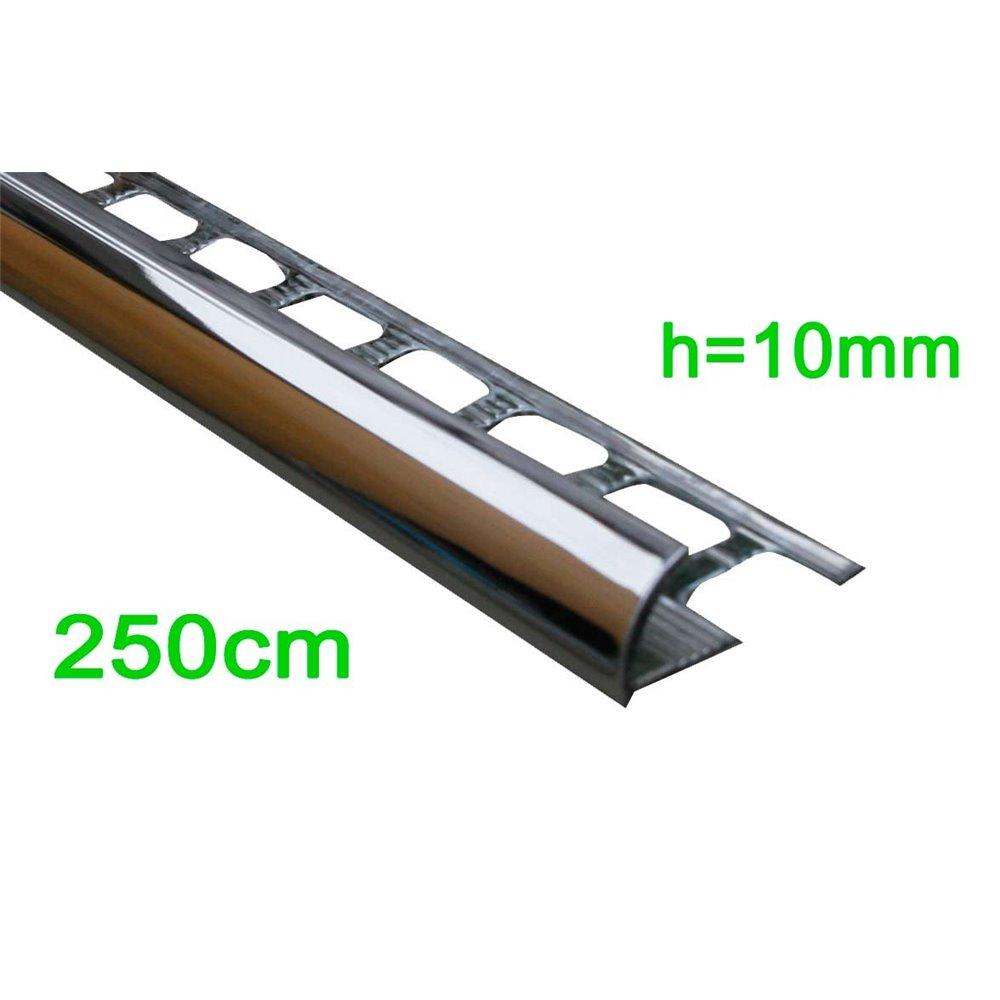 Profil wykończeniowy chrom (krawędziowy) 250cm