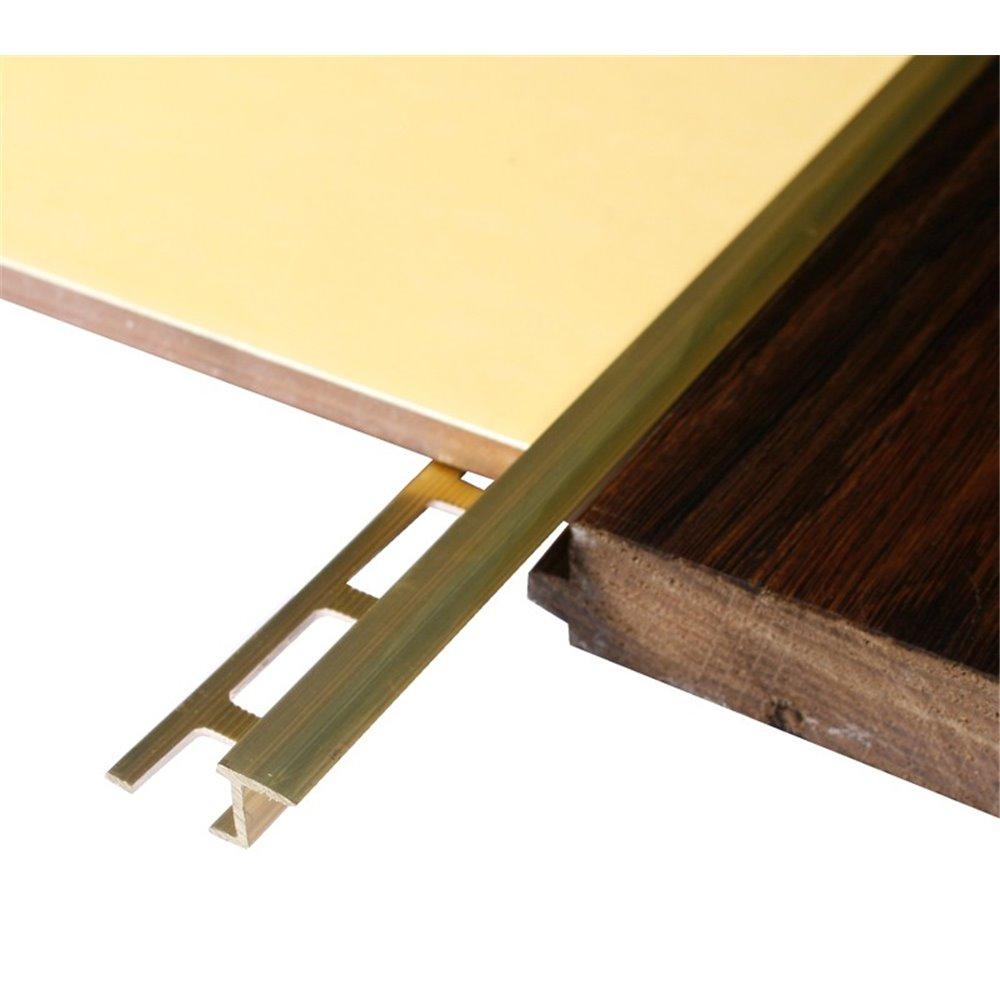Mosiężna listwa łącząca panel-płytka