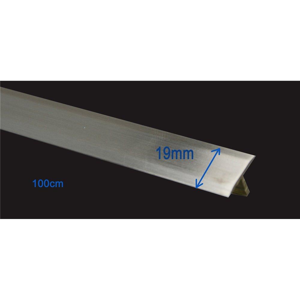 Teownik  mosiądz szczotkowany 19 mm