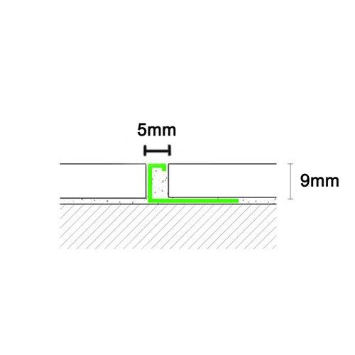 Listwa ozdobna chrom poler 250cm