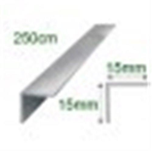 Kątownik polerowany aluminiowy 10x10/250cm}