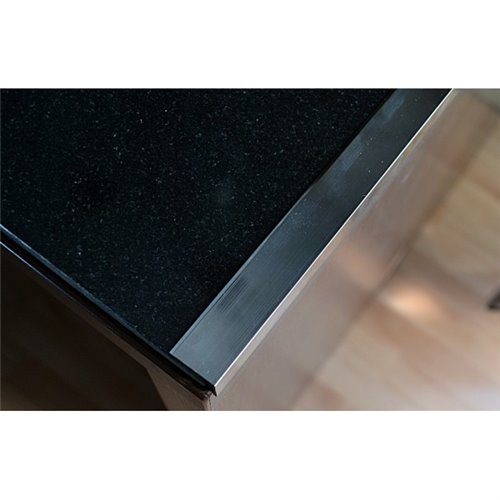 Kątownik polerowany aluminiowy 10x10/250cm