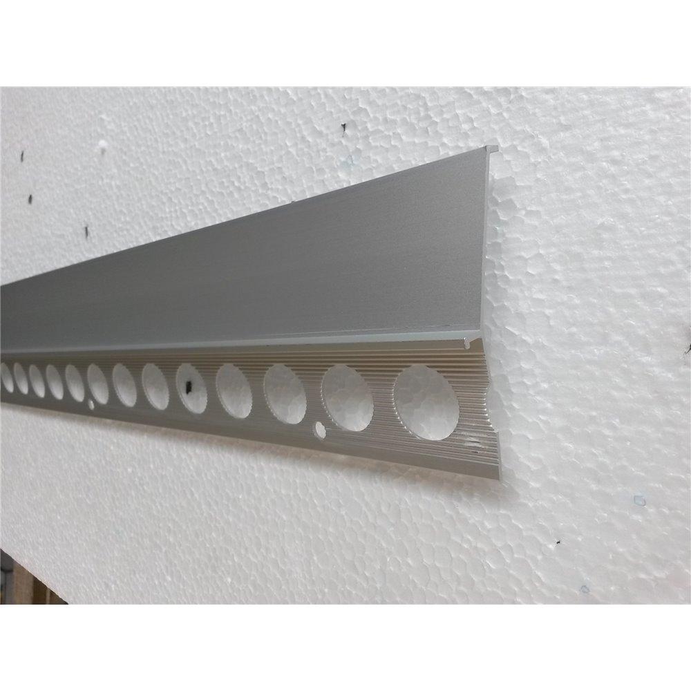 Profil okapowy szeroki 85 mm brąz