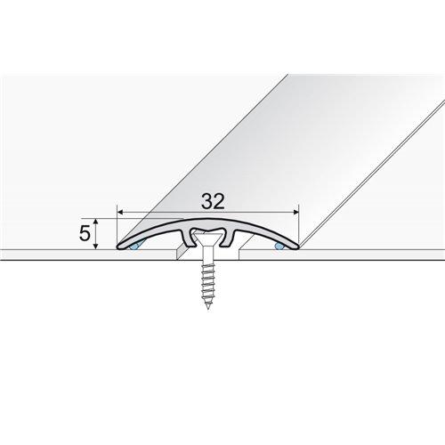 Listwa progowa 30 mm A-66 wciskana aluminium anodowane
