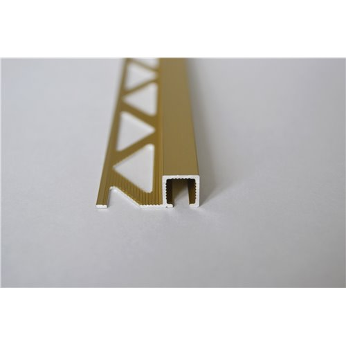 Listwa 8mm kwadratowa aluminiowa anodowana