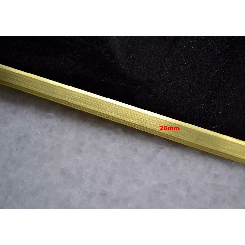 Teownik mosiężny mat 26mm