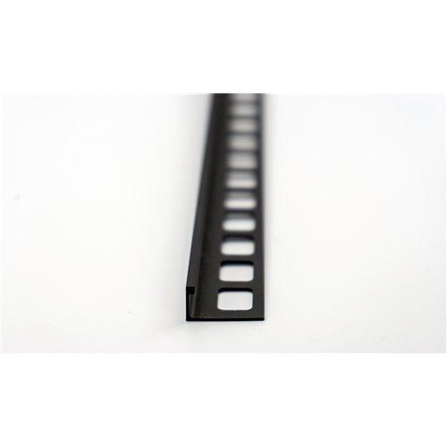 Czarna listwa L aluminium
