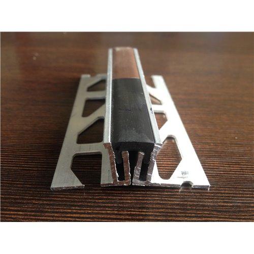 Listwa dylatacyjna aluminiowa z wkładką PCV