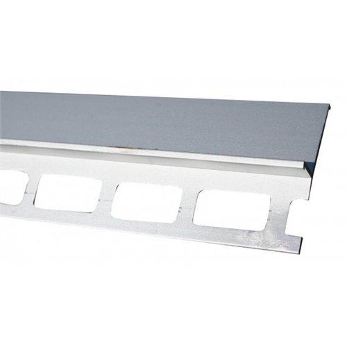 Srebrny okapnik 300 cm balkonowy al. anoda