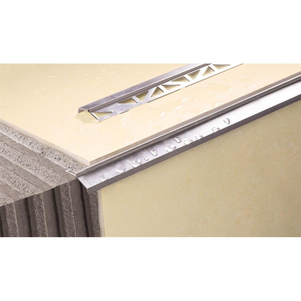 Aluminiowy okapnik wąski