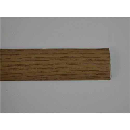 Listwa aluminiowa w okleinie drewnopodobnej