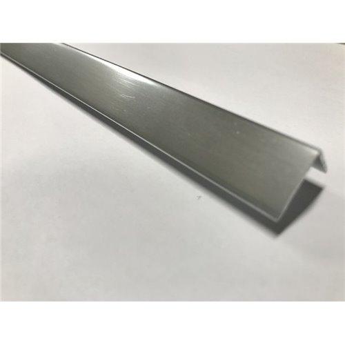 Profil K - aluminium elektropolerowane - kątownik}