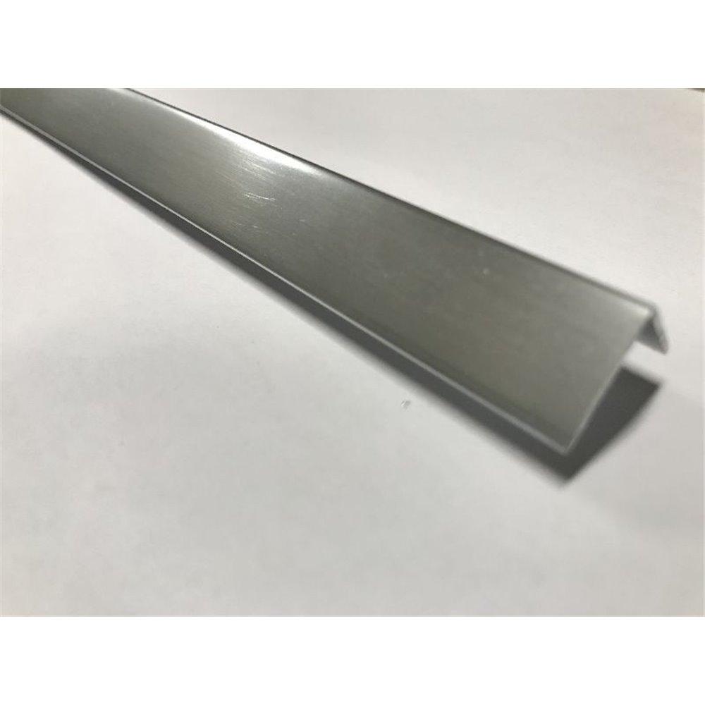 Profil K - aluminium elektropolerowane - kątownik