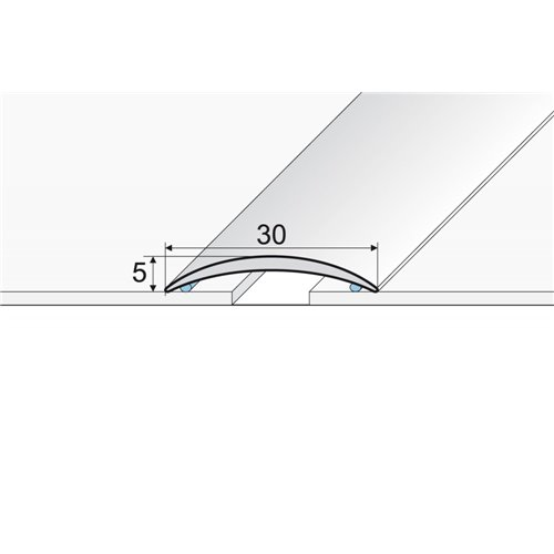 A03 Listwa łączeniowa owalna 30 mm nawiercana