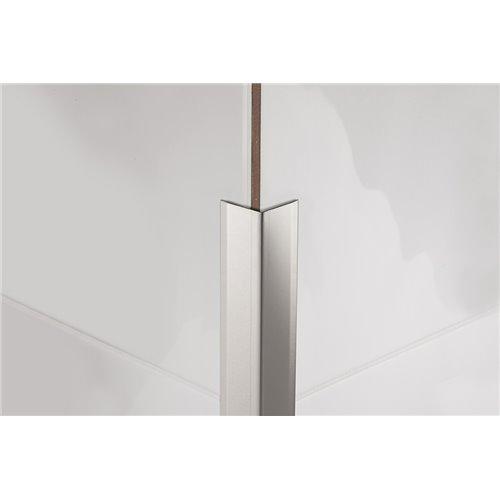 Kątownik stalowy PROCORNER M 200 cm polerowany