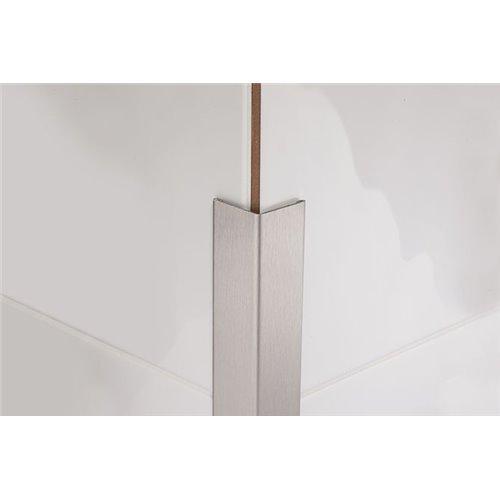 Kątownik stalowy PROCORNER M 270 cm satynowany